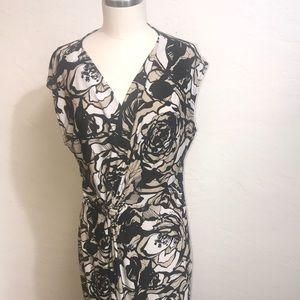 CLASSIC Size: L Poly Stretch Dress